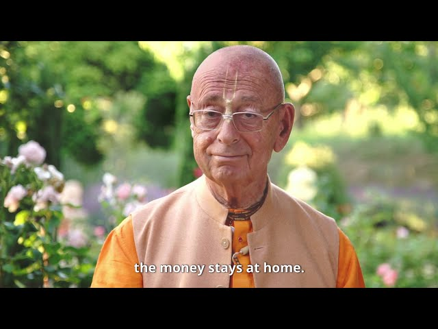 The Money Stays at Home | Sivarama Swami