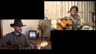 Faded Love - Willie Nelson and Ray Price (cover duet with Kogawa)