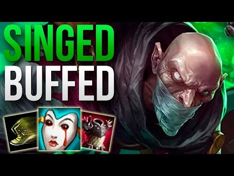 SINGED 9.8 IS AMAZING! | CHALLENGER SINGED TOP GAMEPLAY | Patch 9.8 S9