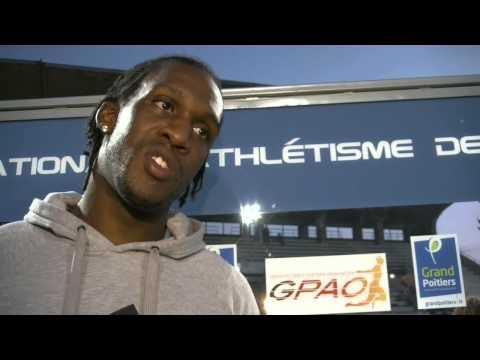 Interview Meeting National d'Athlétisme de Poitiers 2014