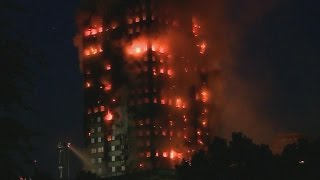 Woman Trapped in London High-Rise Fire Posts Video of Her Scre…