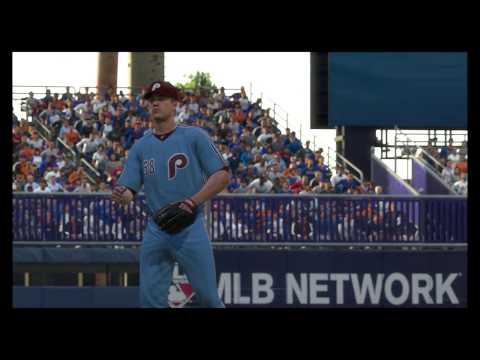 MLB The Show 17 Phillies vs Mets @ Shea Stadium (PS4) 60FPS