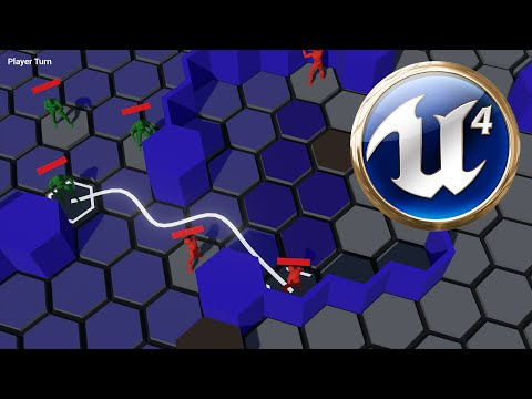 Unreal Engine - Advanced Turn Based Tile Toolkit (Blueprint