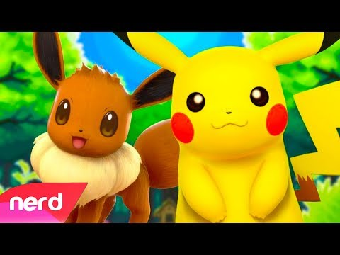 Pokemon Lets Go Song | Champion | by #NerdOut ft Trickywi