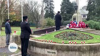 UK Ahmadi Muslims mark Remembrance Day 2020