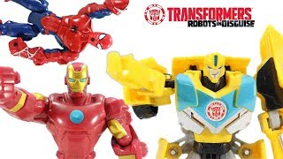 Transformers Bumblebee Magic Super Hero Mixup Surprise