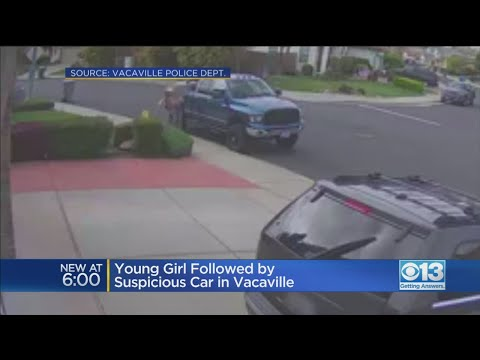 Young Girl Followed By Suspicious Car In Vacaville - YouTube