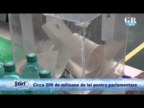 Circa 200 de milioane de lei pentru parlamentare