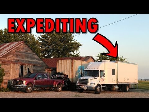 We Are In a Expediting Truck
