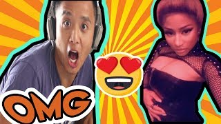 Asians React to Nicki Minaj - Chun-Li (Music Video)