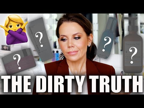 THE DIRTY TRUTH ABOUT SKINCARE ... Products to AVOID!