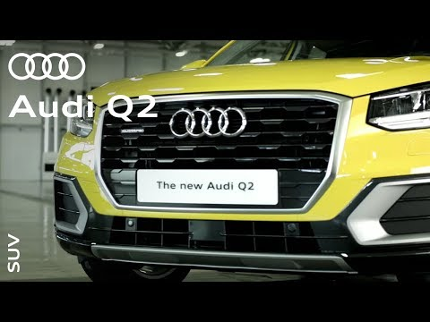 The Audi Q2: The stylish, distinctive, practical SUV