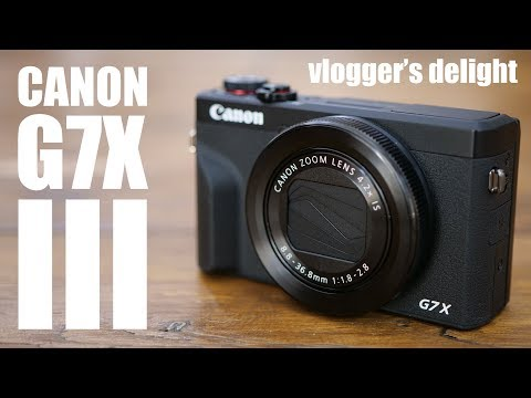 Canon G7 X III camera live streams direct to YouTube