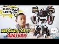 Unboxing Tobot Quatran Hitam, Gabungan Tobot C D R W  Tobot Quatran Bahasa Indonesia