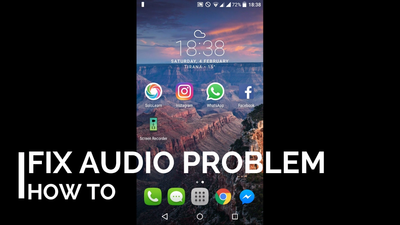 How to fix all Audio/Speaker/Microphone problems in Android || Sound About