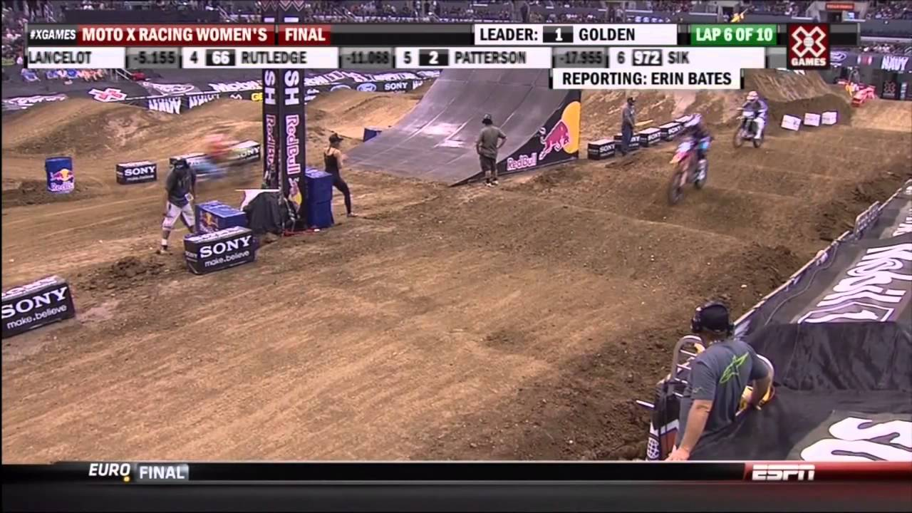 2012 X Games 18 Motocross Womens Racing HD