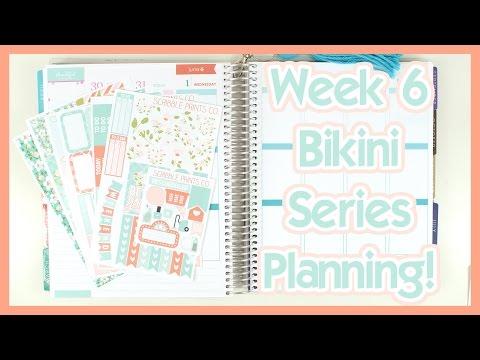Scribble Prints Co You Kit & TIU Bikini Series Week 6 Planning!!