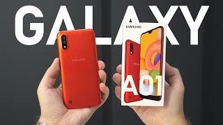 САМЫЙ ДЕШЕВЫЙ SAMSUNG на SNAPDRAGON – Galaxy A01 / СРАВНЕНИЕ с Xiaomi Redmi 8A / ОБЗОР Галакси А01