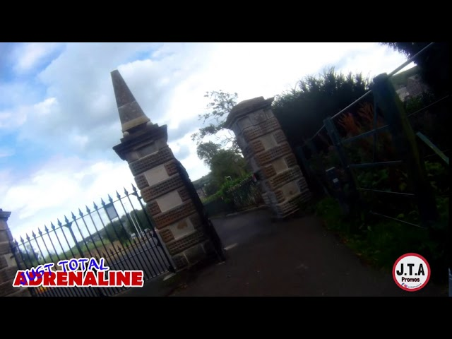 Bike Run from Wilton Lodge Park to Sandbed Hawick | GoXtreme Vision 4K Ultra HD Action Cam BikeCam