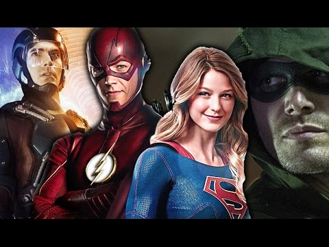 The Flash ⚡ Arrow | Legends Of Tomorrow | Supergirl - Saviors Of The World