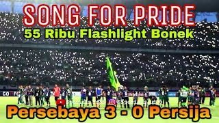 Download Merinding..!! 55 ribu Bonek nyanyikan Song For Pride akhir Laga Persebaya vs Persija