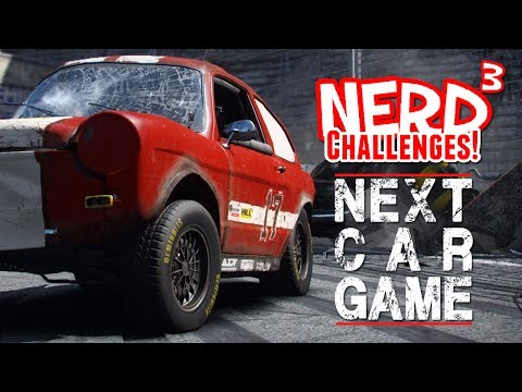 Nerd³ Challenges! The Death Race! - Next Car Game