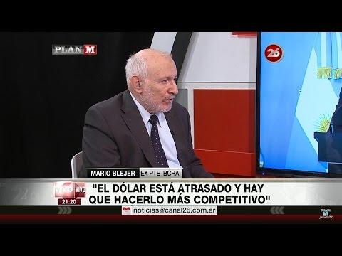 """Mario Blejer en """"Plan M"""", de Maxi Montenegro - 24/10/16"""