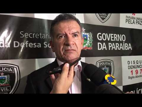 Delegado comenta sobre acidente em São Mamede, incêndio de carro de advogado e greve dos policiais