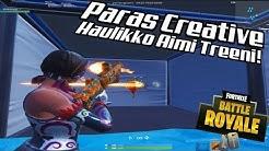 Paras Creative Haulikko Aimi Treeni!! - Fortnite Suomi