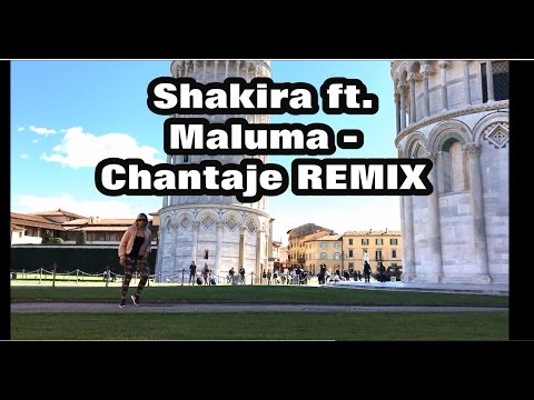 Shakira ft Maluma - Chantaje REMIX - Romy Sibel - Zumba 2017 - easy choreography - dance 2017- Regg