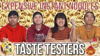 Expensive Instant Noodles   Taste Testers   EP 77