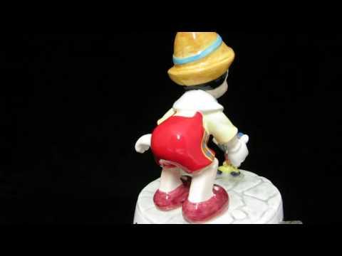 Disney Schmid Pinocchio Music Box
