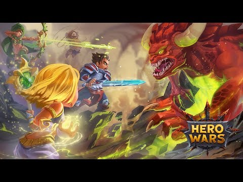 New mobile RPG Hero Wars | Review + Giveaway! #AD