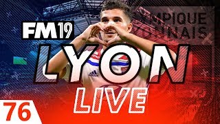 Football Manager 2019 | Lyon Live #76: Regen Hunting #FM19