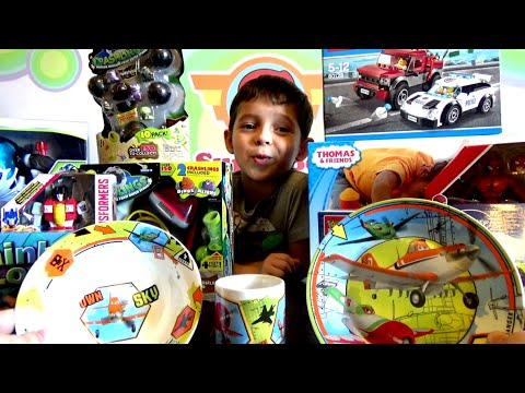 Детские игрушки из посылки - распаковка / Children's Toys From The Package Unpacking