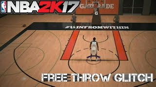 NBA 2K17 Free Throws in Practice Glitch @2K