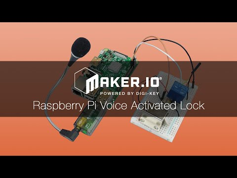 How to Make a Raspberry Pi Voice-Activated Door Lock