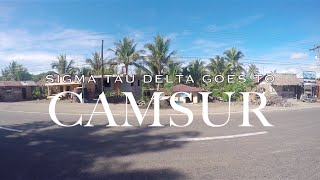 Sigma Tau Delta goes to Camsur : GoPro Hero 4