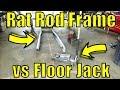 47 Ford Rat Rod Truck Build - Frame vs Floor Jack