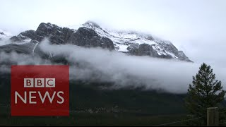 Time-lapse of the Canadian Rockies - BBC News