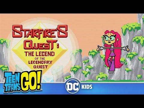 Teen Titans Go! | 8-bit Starfires Legendary Quest