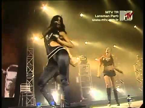 The Pussycat Dolls - Buttons, Beep &  Don't Cha Live At MTV TR Lansman Party 2006