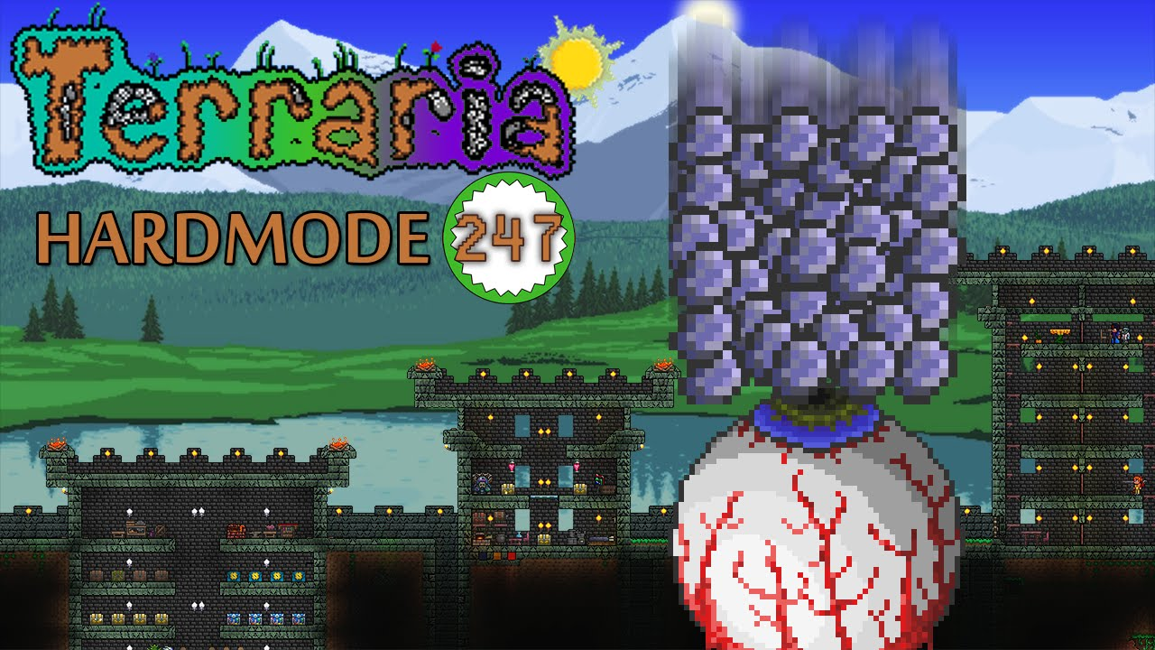 Terraria - LOTS OF DEMONITE ORE