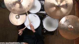 Billy Drummond - Dubai (drum transcription)