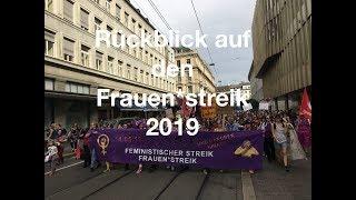 Rückblick auf den Frauenstreik in der Schweiz 2019