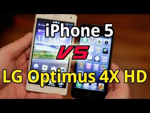 iPhone 5 vs LG Optimus 4X HD