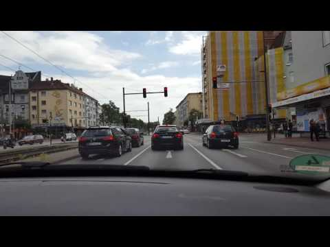 Driving through Hannover Germany