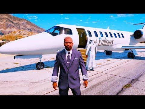 JSEM PILOT !! -  GTA 5 REÁLNÝ ŽIVOT - 04