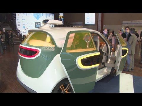 [LeWeb13] Une voiture autonome française 100% connectée