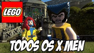 Lego Marvel Super Heroes - Todos os X-Men